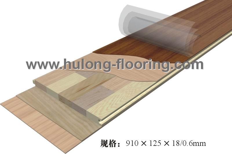 发展多种类型的复合型木地板