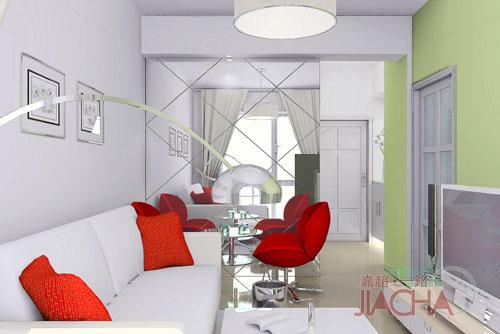 漂亮时尚的客厅装修图 - 理睬 - .