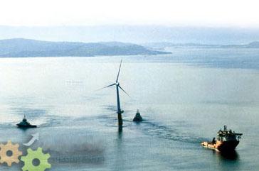 漂浮式风力发电机为能源需求做出重要贡献