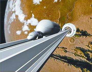 """细数人类的月球梦想""""月球电梯""""靠谱吗?"""
