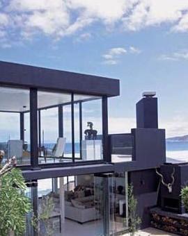 纽约钢结构玻璃别墅