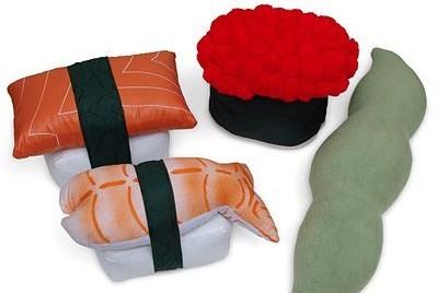 秀色可餐的工艺品 超诱人的寿司抱枕